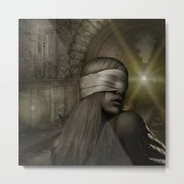 """Awareness"" Metal Print"