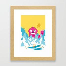 Big Pink! Framed Art Print