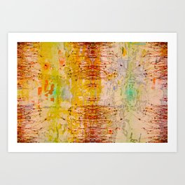 Organic Pattern Art Print