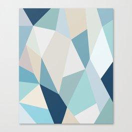SPRING LOVE { BLUE } Canvas Print