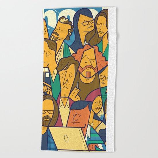 Silicon Valley Beach Towel