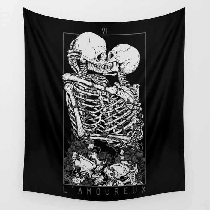 The Lovers Wall Tapestry