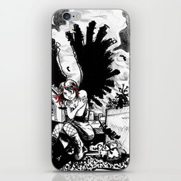Dark angel iPhone Skin