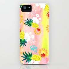Floral Pineapple Punch iPhone (5, 5s) Slim Case