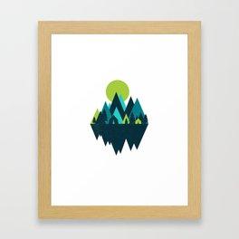 COOL TONES Framed Art Print