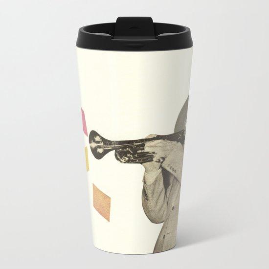 Blue Note Metal Travel Mug
