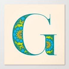 G -Amarilis Canvas Print