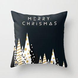 merry chrismas Throw Pillow
