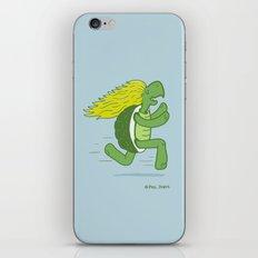 Tortoise and that Hair iPhone & iPod Skin