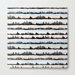 Cities Metal Print