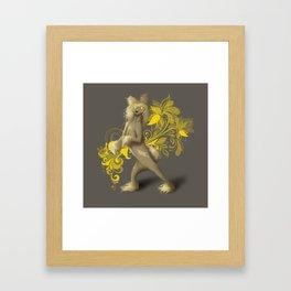Crested Framed Art Print