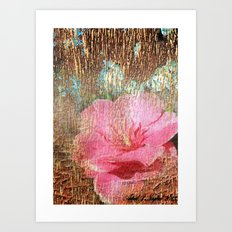 late flowering Art Print