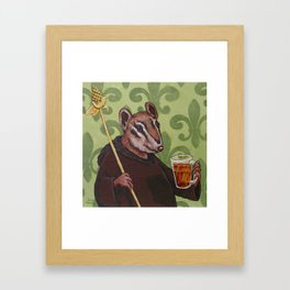Chip Monk Beer Framed Art Print