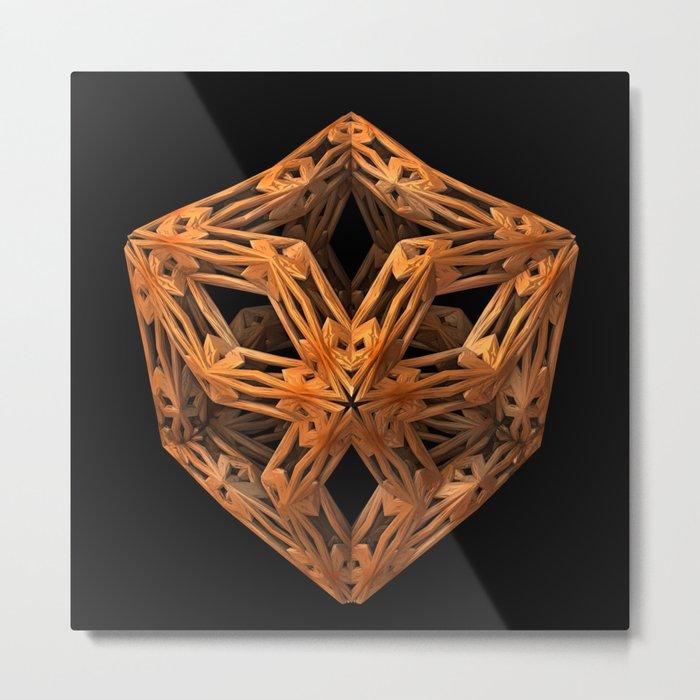 The Wood Carver Metal Print