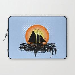 Grunge sailing Laptop Sleeve