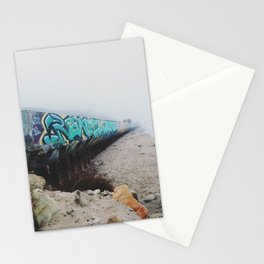 Beach Graffiti Stationery Cards