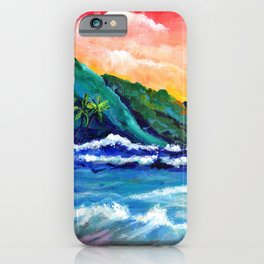 Romantic Kauai Sunset iPhone Case