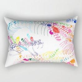 Anatomical Quetzalcoatl Rectangular Pillow