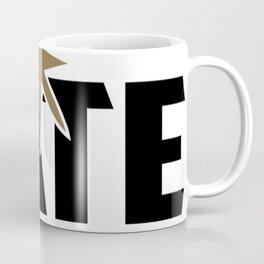 FREE NATE (black on white) Coffee Mug