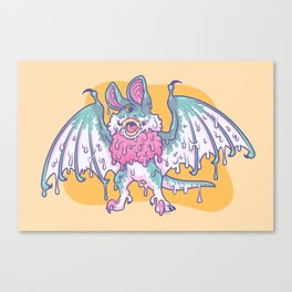 Gooey Gumbat Canvas Print