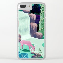 The Whispering Waters of Eventide Vale Clear iPhone Case