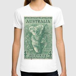 Vintage Koala Stamp T-shirt