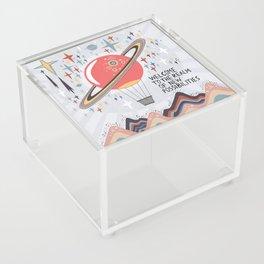Welcome Acrylic Box