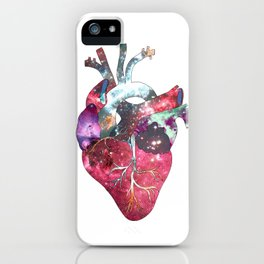 Superstar Heart (on white) iPhone Case