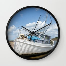 Overy Staithe LN156 Wall Clock