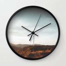 Fading light Wall Clock