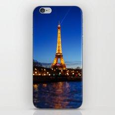 Eiffel Tower and Bokeh. iPhone & iPod Skin