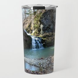 Alone in Secret Hollow with the Caves, Cascades, and Critters, No. 15 of 21 Travel Mug