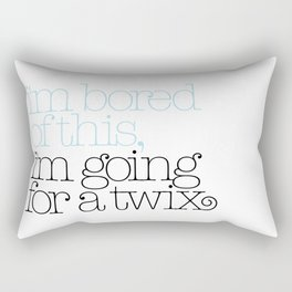 I'm bored of this, I'm going for a Twix Rectangular Pillow