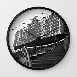 Wrigley Field Wall Clock