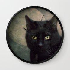 Hunter's Moon Wall Clock