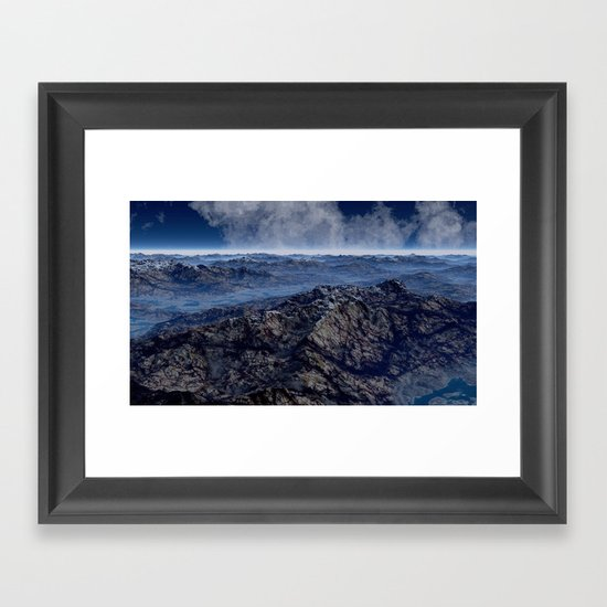 Welcome To Planet X Framed Art Print