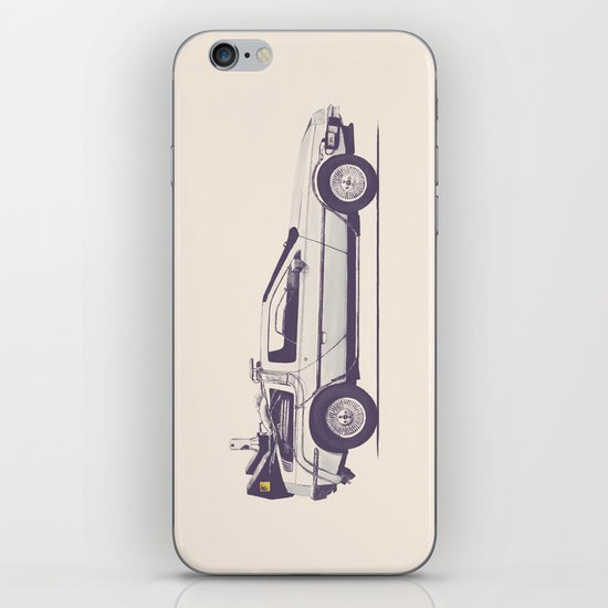 Famous Car #2 - Delorean iPhone & iPod Skin