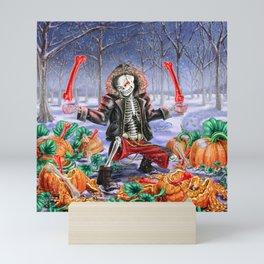 Wanna Smash Pumpkins? Mini Art Print