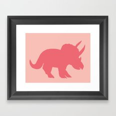 Sarah in Pink Framed Art Print
