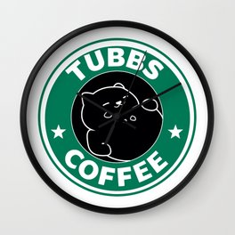 Tubbs Coffee Wall Clock