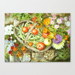 Beans & Co Canvas Print