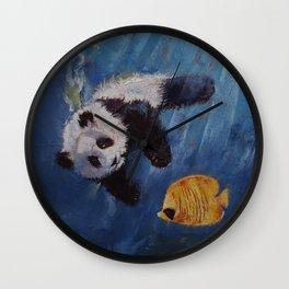Panda Diver Wall Clock