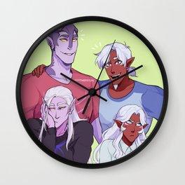 Royal Family Portrait Wall Clock