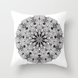 MANDALA #10 Throw Pillow