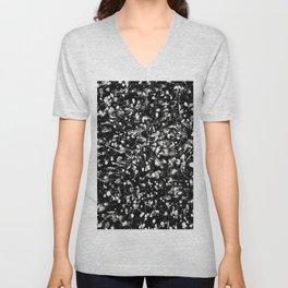 Black and white Galaxy Unisex V-Neck