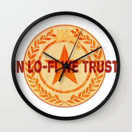 In lo-fi we trust Wall Clock
