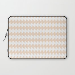 jaggered and staggered in linen Laptop Sleeve