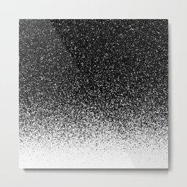 Particle Gradient Metal Print