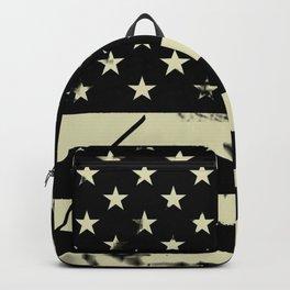 Distressed Tactical U.S. Flag Backpack
