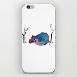Let Sleeping Dragons Lie iPhone Skin